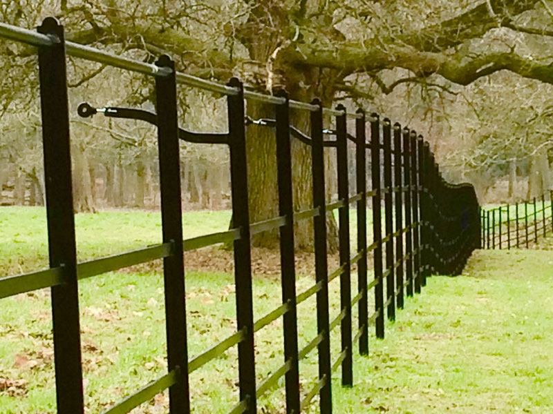 Norfolk Estate Fencing, East Anglia