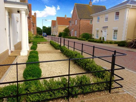 Low Metal Fencing, Norfolk